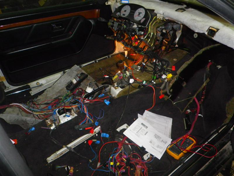 Audi S2 Coupe Project-Wiring and Ancillaries - BRYDON ENGINEERINGBRYDON ENGINEERING